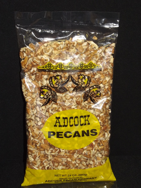 New Crop Medium Chop Pecan Pieces 24 ounces