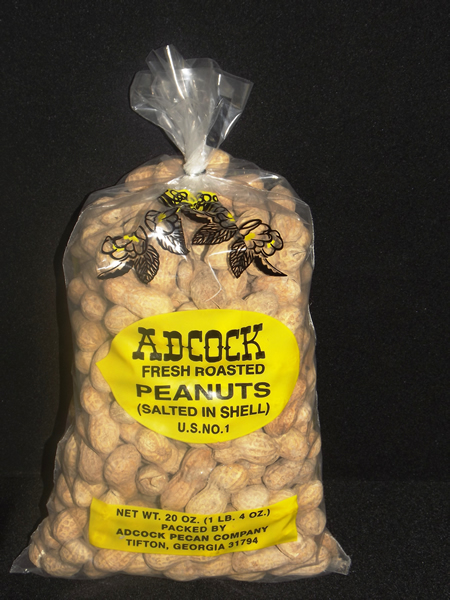 Fresh Roasted & Salted Peanuts in the Shell 20 oz.